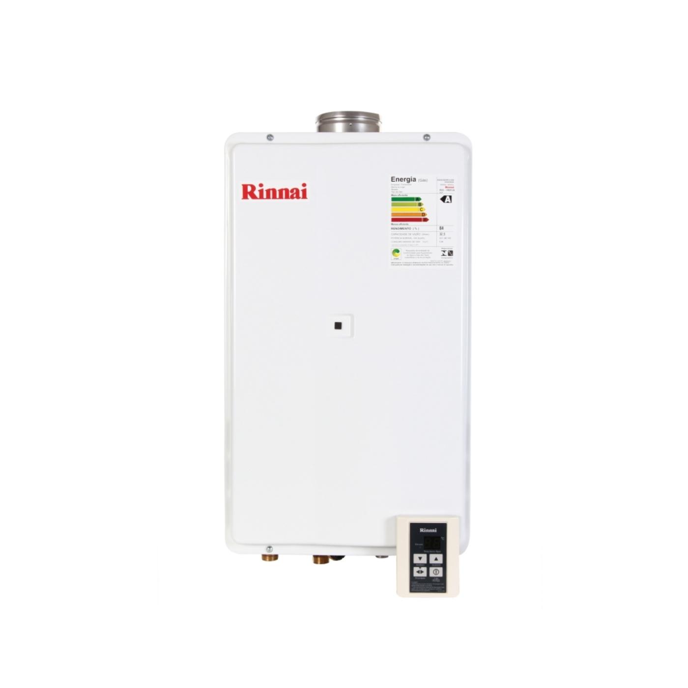 Água a Gás Rinnai 32 5 Litros Digital REU 2402 FEA FRETE GRÁTIS #B1A51A 1400x1400 Balança Digital Banheiro Frete Grátis